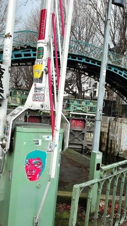 Collage Paris, Canal Saint Mart - zeldabomba | ello