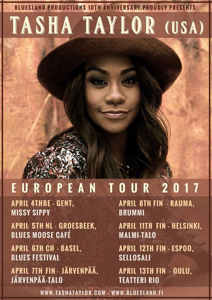 Tasha Taylor European Tour date - soulsouthentertainment | ello