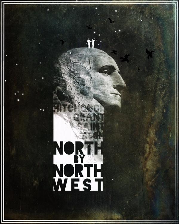 North Northwest - poster, design - pinheiro | ello
