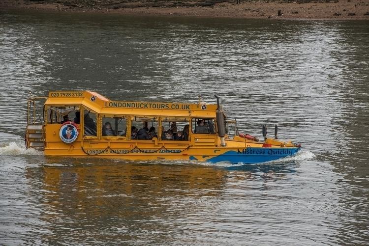 Dukw, River Thames, London - Nikon - toshmarshall | ello