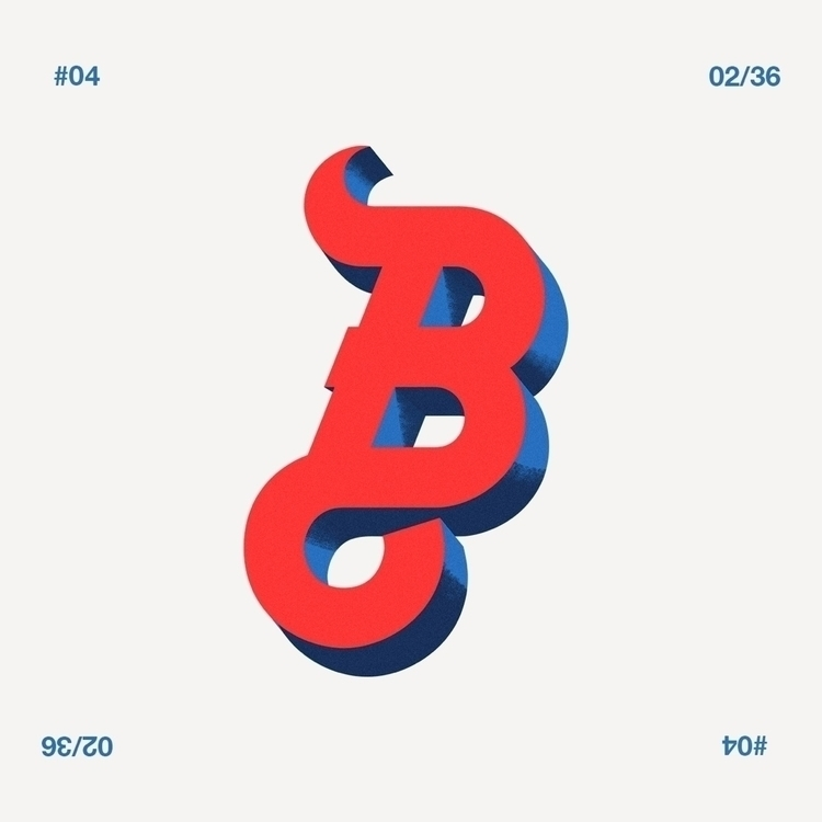 Day 2 36 - 36daysoftype04, 36days_b - iled | ello