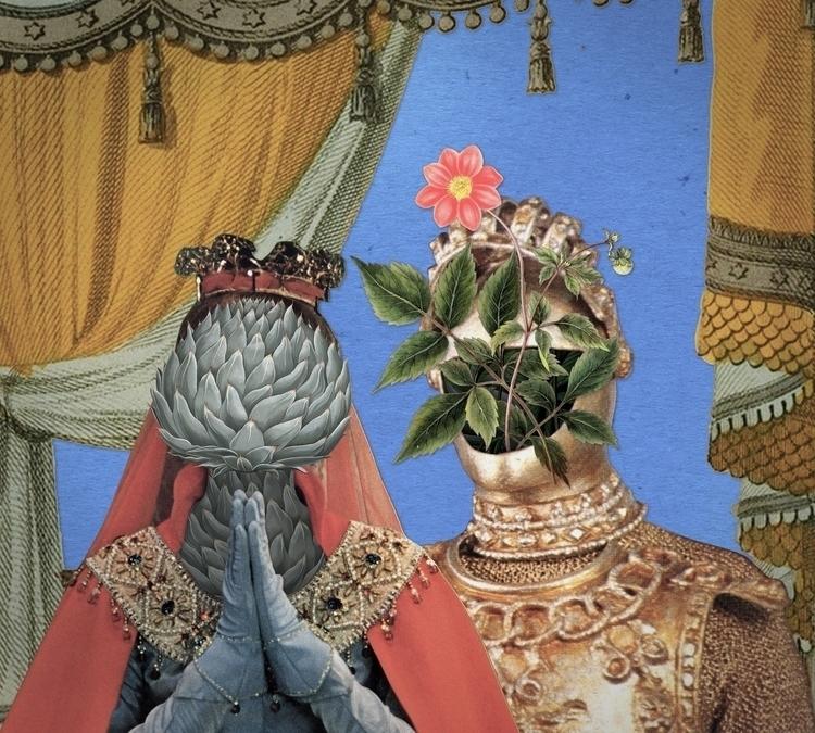 Queen Artichoke King Flower Pot - santasombra | ello