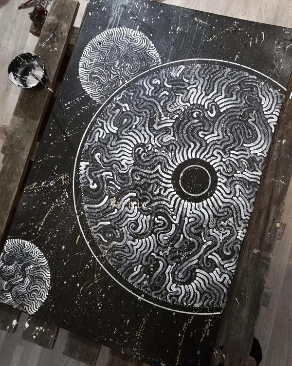 Working experimental canvas...  - yellabor | ello