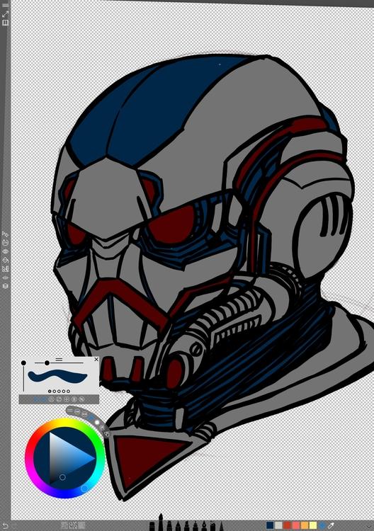 Mask Day 53 - inspired Star Lor - locnguyen | ello