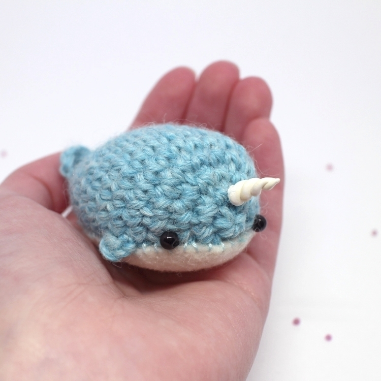 mini narwhals blue purple - mohu | ello