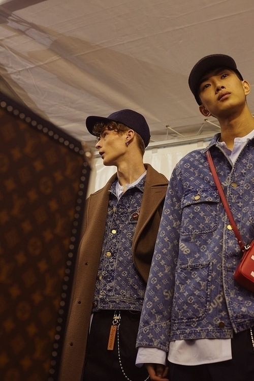 Louis Vuitton FW17. Backstage.  - pjsmith | ello