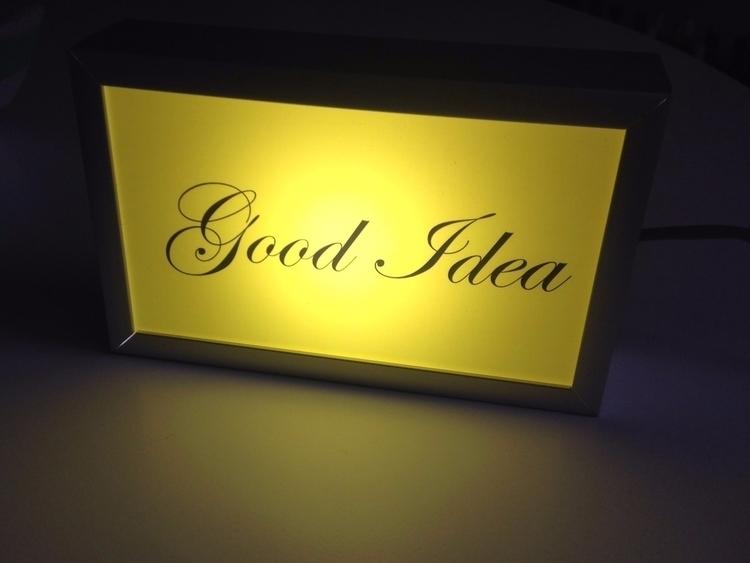 good evening GOOD IDEA lightbox - nathaliequagliotto | ello