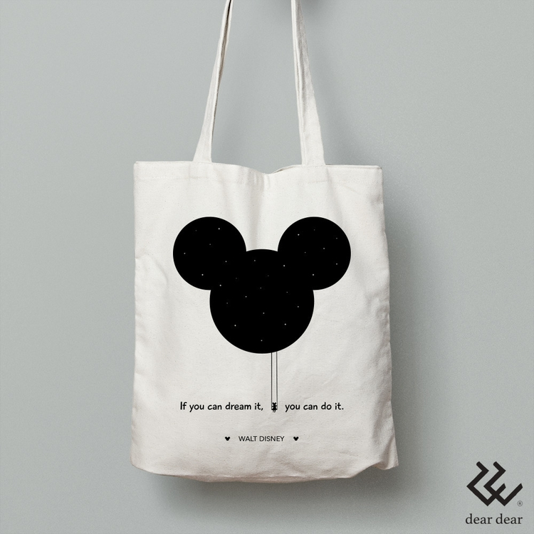 Tote bag: dream - Walt Disney W - deardear | ello