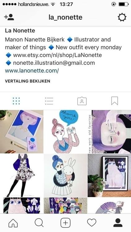 follow Instagram personal work - lanonette   ello