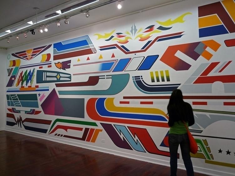 Combis, wall painting based loc - eltono | ello