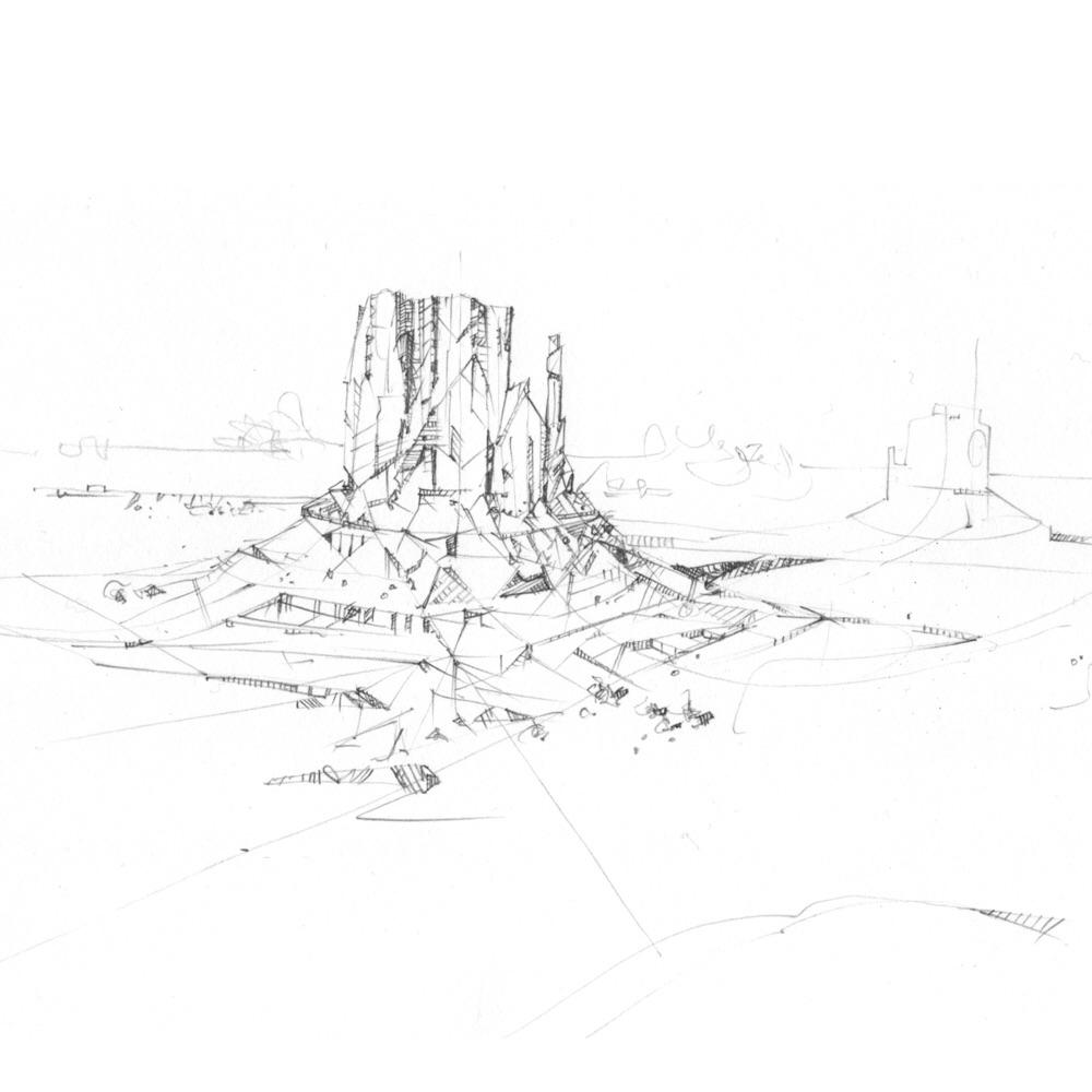 draw, landscape, art, graphite - jasonthielke | ello