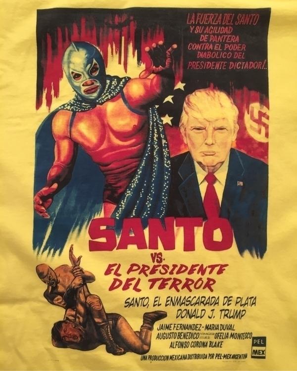 ¡Viva México! - Santo El Presid - helliongallery | ello