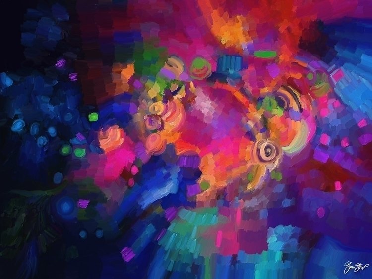 Share Light - abstract, art, mixedmedia - ginastartup   ello