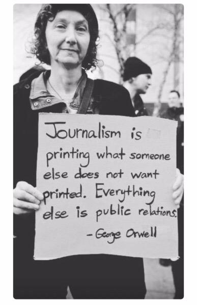 journalism, georgeorwell, orwell - storribio | ello