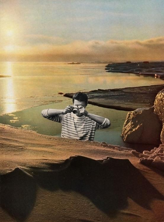 Soleil de minuit - 21x29 cm Pap - claire_martine_   ello