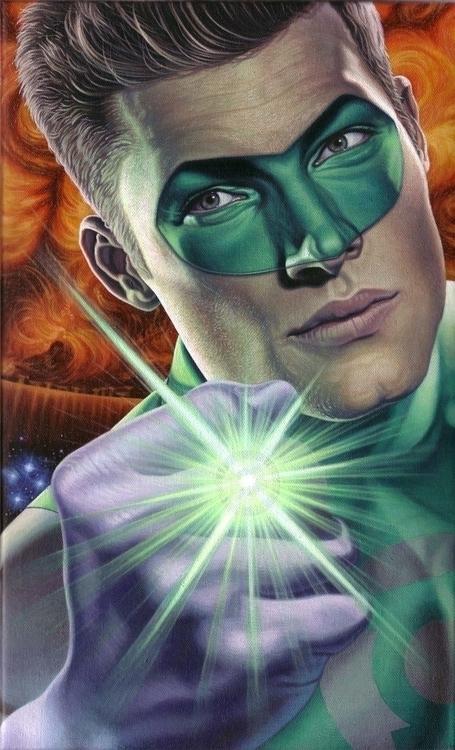 GREEN LANTERN: Emerald Gladiato - tym_stevens | ello