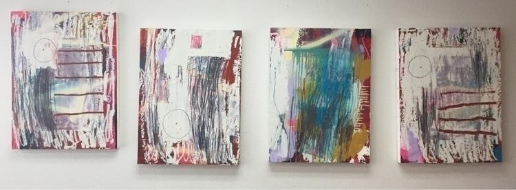 work paintings: thinking broken - kailafarrellsmith | ello