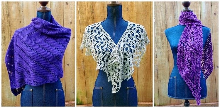 busy making shawls winter, weat - miniaturemonkeycreations   ello