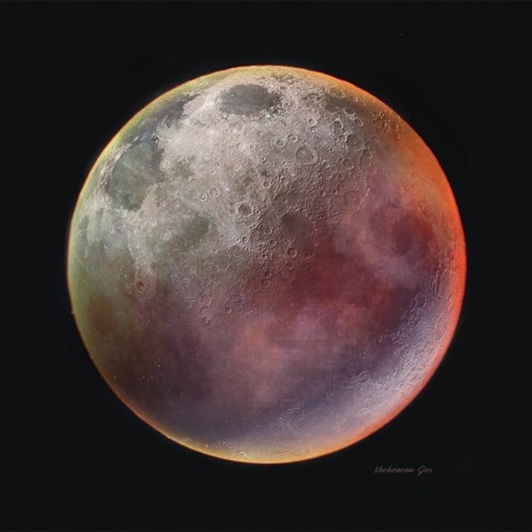 PC work: expression Moon. Depar - josver | ello