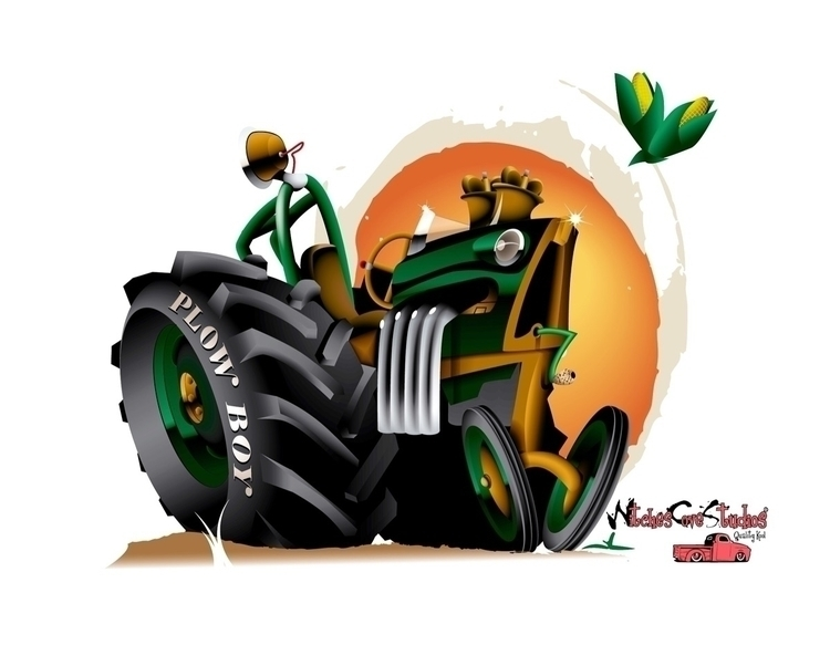 Ready spring planting - kustom, cartoon - witchescovestudios | ello