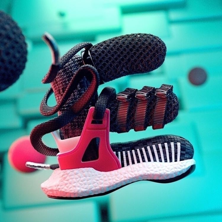 36daysoftype  - adidas, boost, eqt - pictoglaze | ello