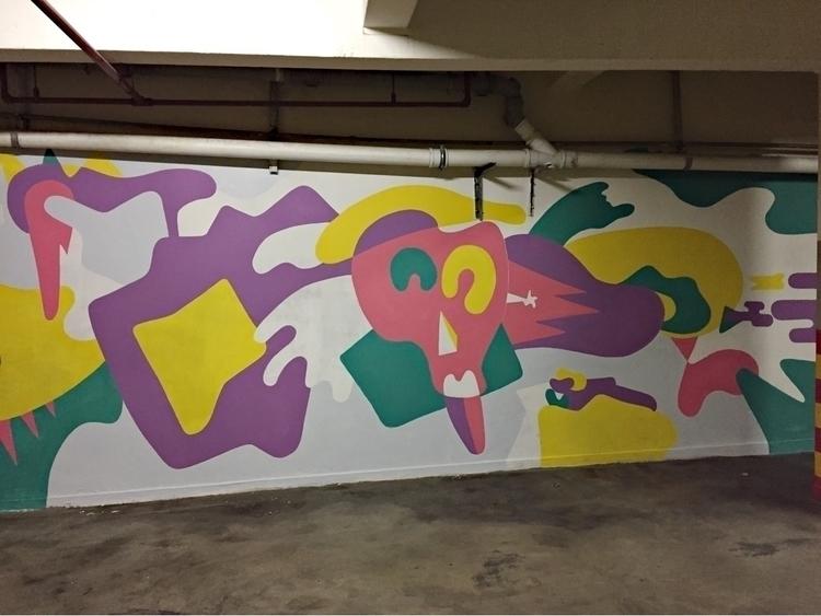 spent 2 days making mural style - alfromcapetown | ello