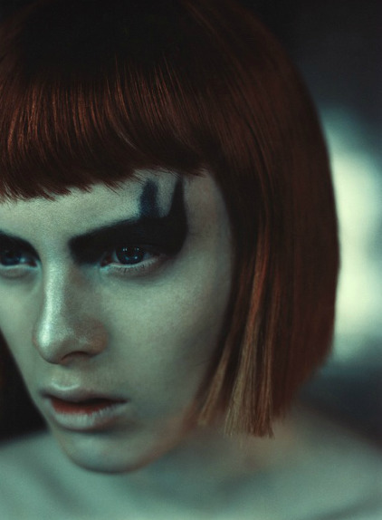 Karen Elson Luis Sanchis Face,  - karinechaneyin | ello