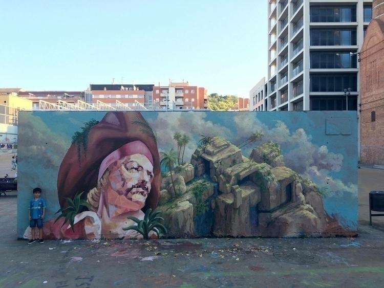 Artist: Uriginal Location: Barc - streetartunitedstates | ello