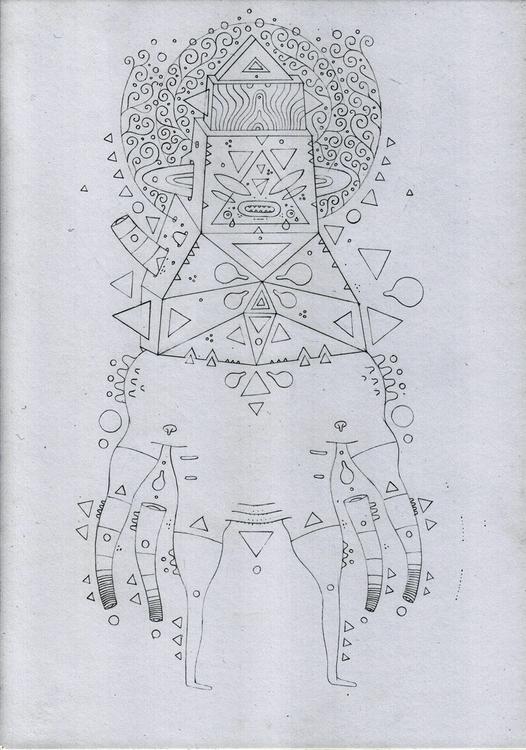 sketching ;) hehe... adobe cs 5 - cosmicnuggets | ello