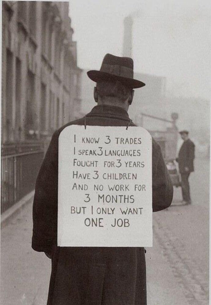 Job hunting Great Depression, 1 - djohnmiller1990   ello