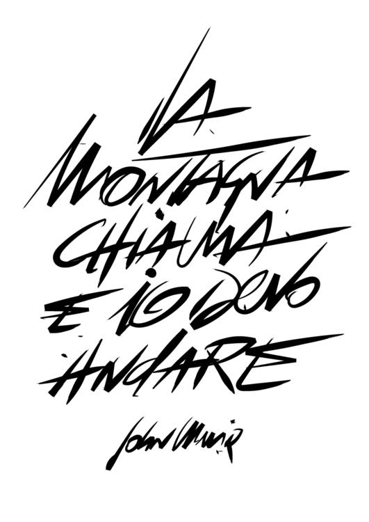 mountains calling - John Muir - macioce | ello