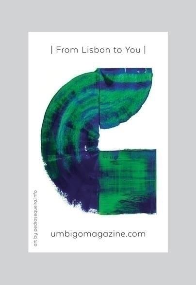 invitation Umbigo magazine work - sequeira | ello