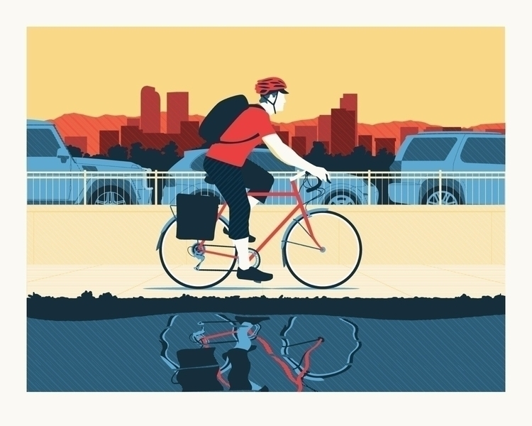 Thinking making commuter poster - justincline | ello