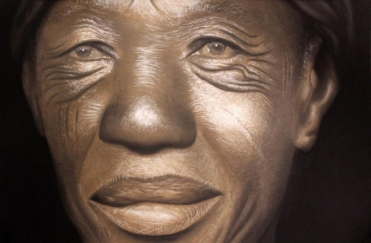 Babajide Olatunji Tribal Mark S - blackartmatters | ello