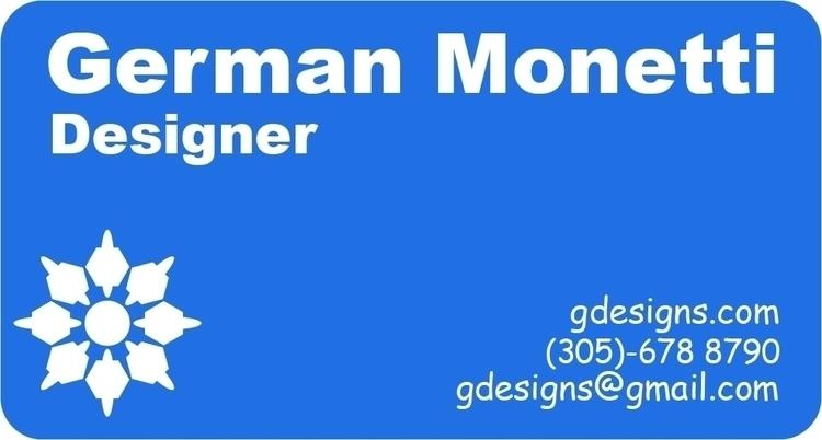 Business Card - germanmonetti   ello
