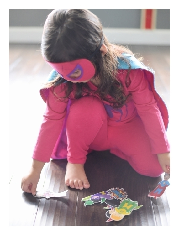 Dear Riley, pink superhero cost - whiletheyslept | ello
