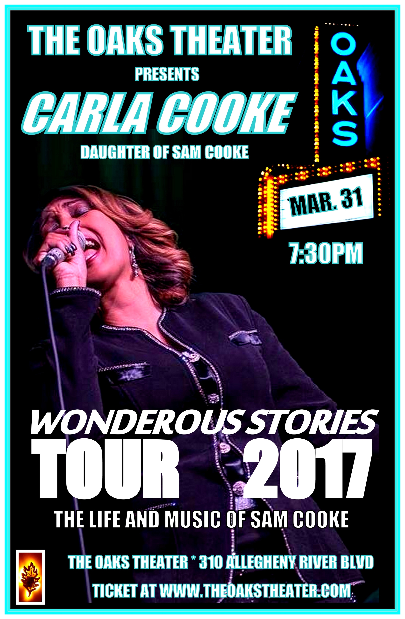Tickets Carla Cooke March 31st  - soulsouthentertainment | ello