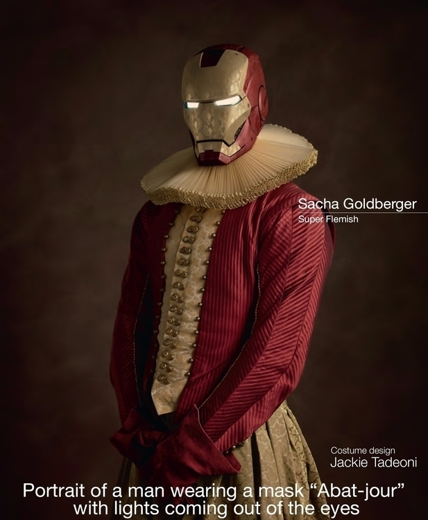 Super-Heroes born 16th century  - velvetandpurple | ello