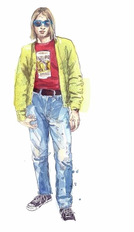 Kurt Cobain Goodhood.com. featu - sarahlarnach | ello