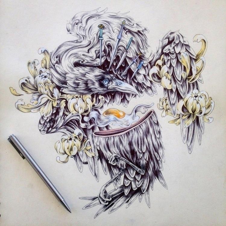 art, drawing, illustration - kitmizeresart | ello
