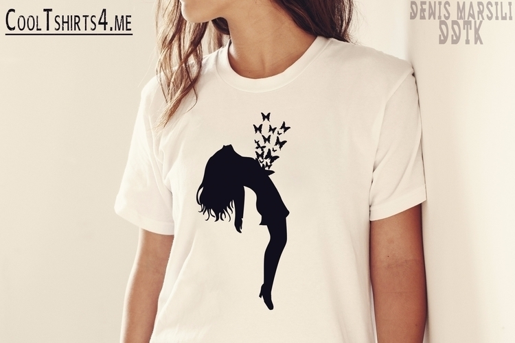 store Store - Tshirt, Butterflies - denismarsili | ello