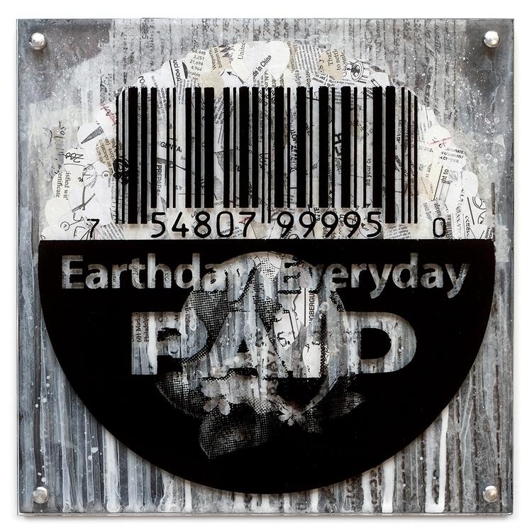 Earthday color screen printed a - conartstudio | ello