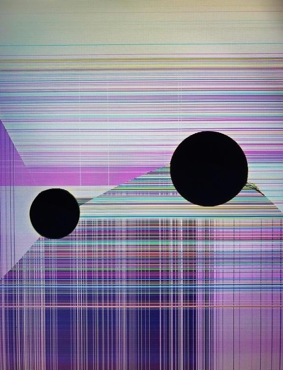 glitch, glitchart, abstract - rdklinc | ello