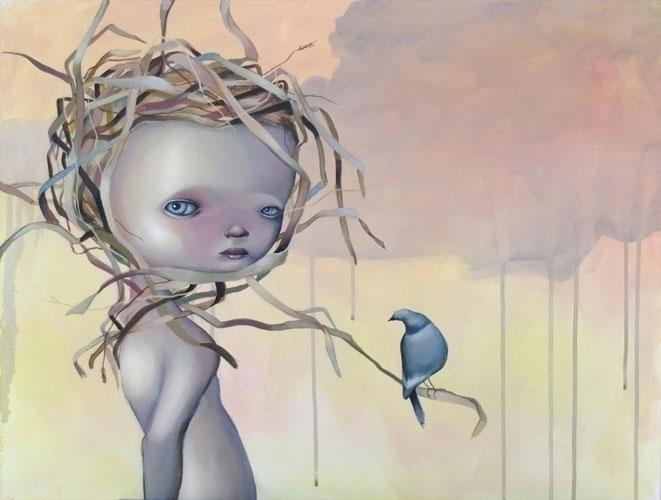 build nest - anneangelshaug, art - anneangel | ello