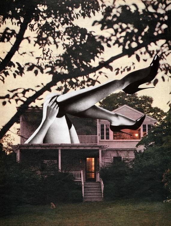 La maison hantée - 26x34,5 cm P - claire_martine_ | ello