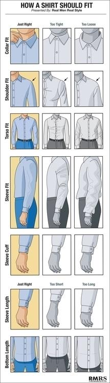 Cómo debe encajar una camisa ma - natalia_gomi | ello