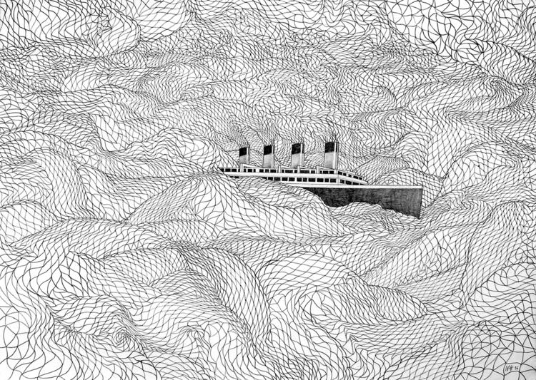 Rattlesnake sailing 50 70 cm /  - nathanael_mikles | ello