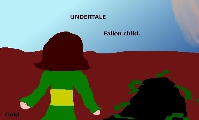 undertale art :3 hope sees like - goldenfreakster   ello