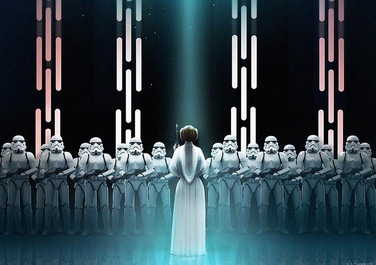 Star Wars: Sci-fi Perspectives  - 2illustration | ello