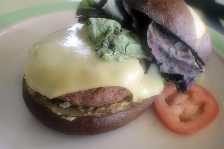 review Meat burger! find #dair - thefatveganchef | ello